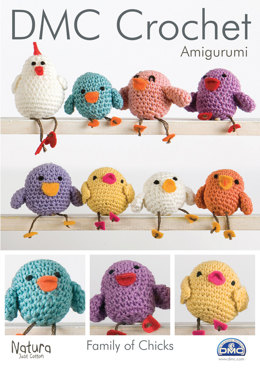 Family of Chicks Toys in DMC Natura Just Cotton - 14900L/2