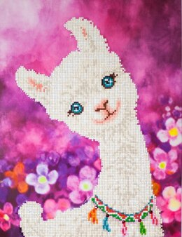 Diamond Dotz Lulu Llama Diamond Painting Kit