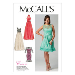 McCall's Misses' Dresses M6893 - Sewing Pattern