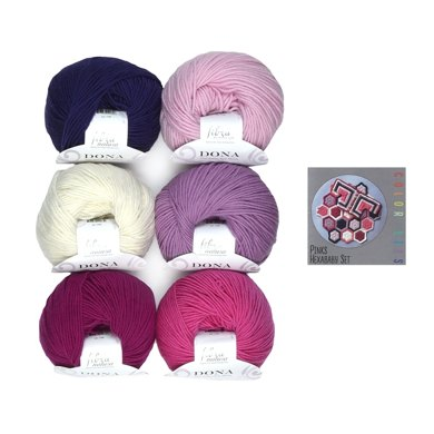 Universal Yarn Color Kit Hexababy Set