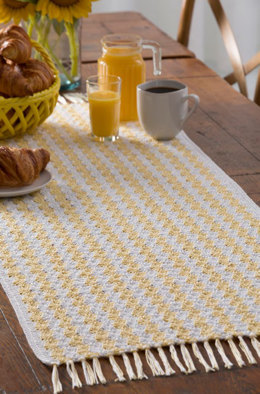 She Sells Sea Shells Runner in Aunt Lydia's Fashion Crochet Thread Size 3 - LC4722 - Downloadable PDF
