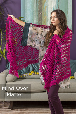 Mind Over Matter Shawl in Universal Yarn Finn - Downloadable PDF