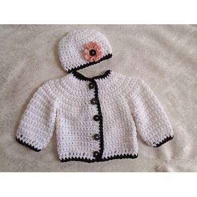 801 Baby and Child Cardigan Sweater Set