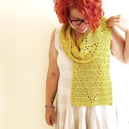 Heart in a Cage scarf