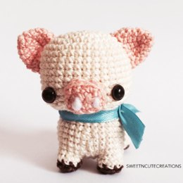 Amigurumi Leila the Pig