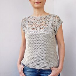 Pearl shell top