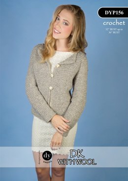 Jacket in DY Choice DK With Wool - DYP156
