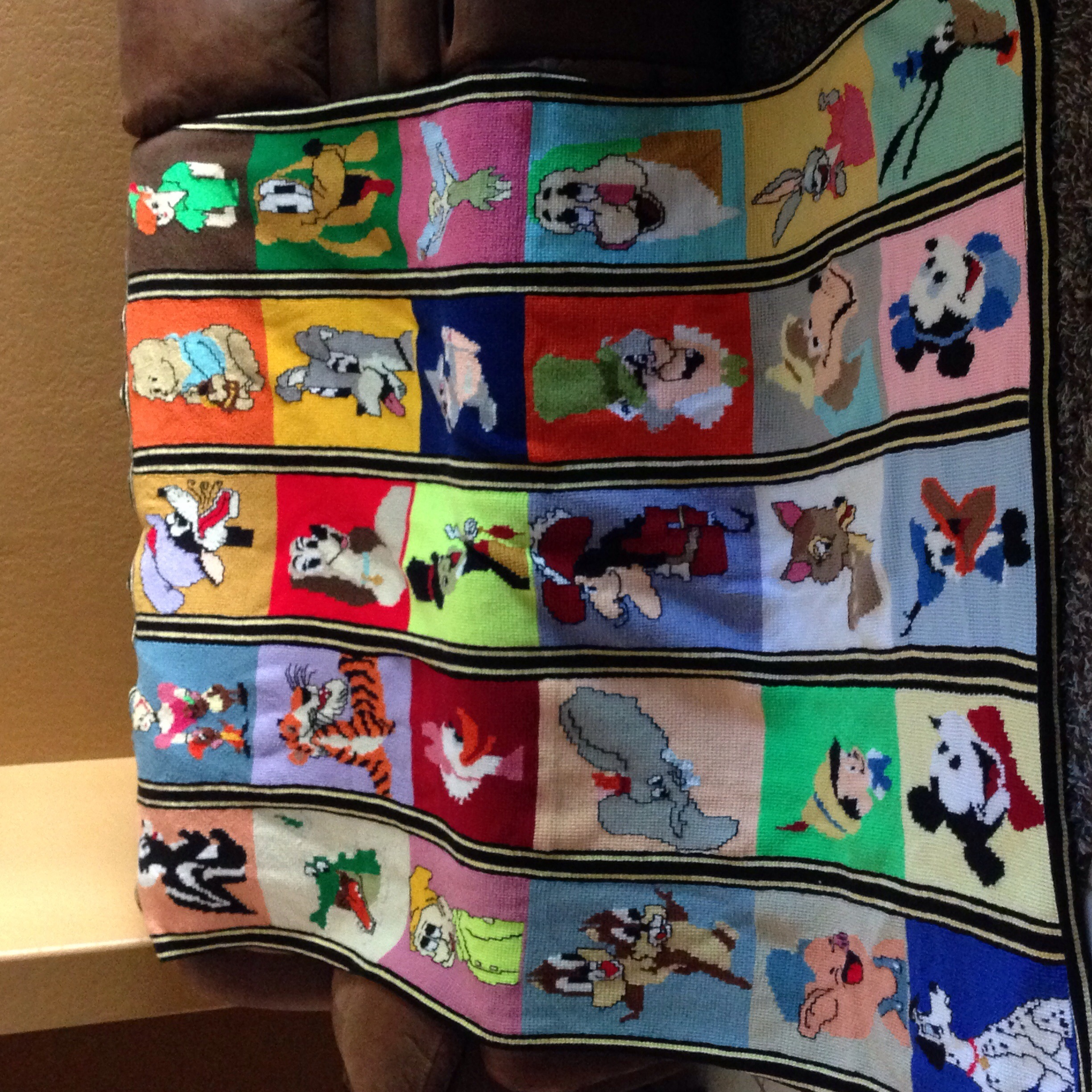 Disney Blanket Crochet Project By Janet W Loveknitting