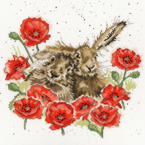 Bothy Threads Love Is In The Hare - Hannah Dale