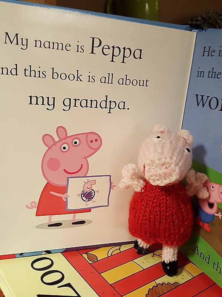 Peppa Pig Toy Knitting Pattern By Hennie