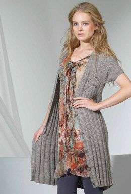 Jacke in Lang Yarns Linda - Downloadable PDF