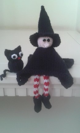 Little Witch and Midnight the Cat