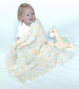 Fast Baby Blanket in Plymouth Heaven - F132