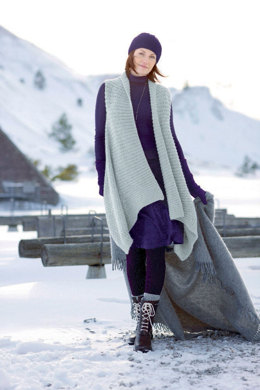 Stola in Schachenmayr Wool 125 - S7055A - Downloadable PDF