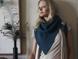 Rustic Shawl in Imperial Yarn Tracie Too - P140 - Downloadable PDF