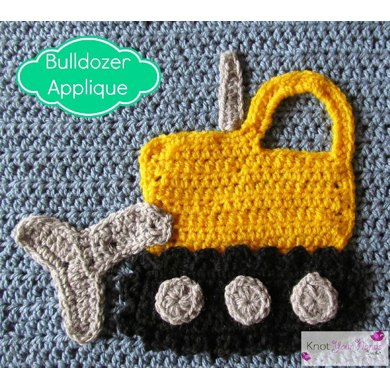 Bulldozer Applique