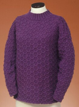 Honeycomb Cable Pullover #131