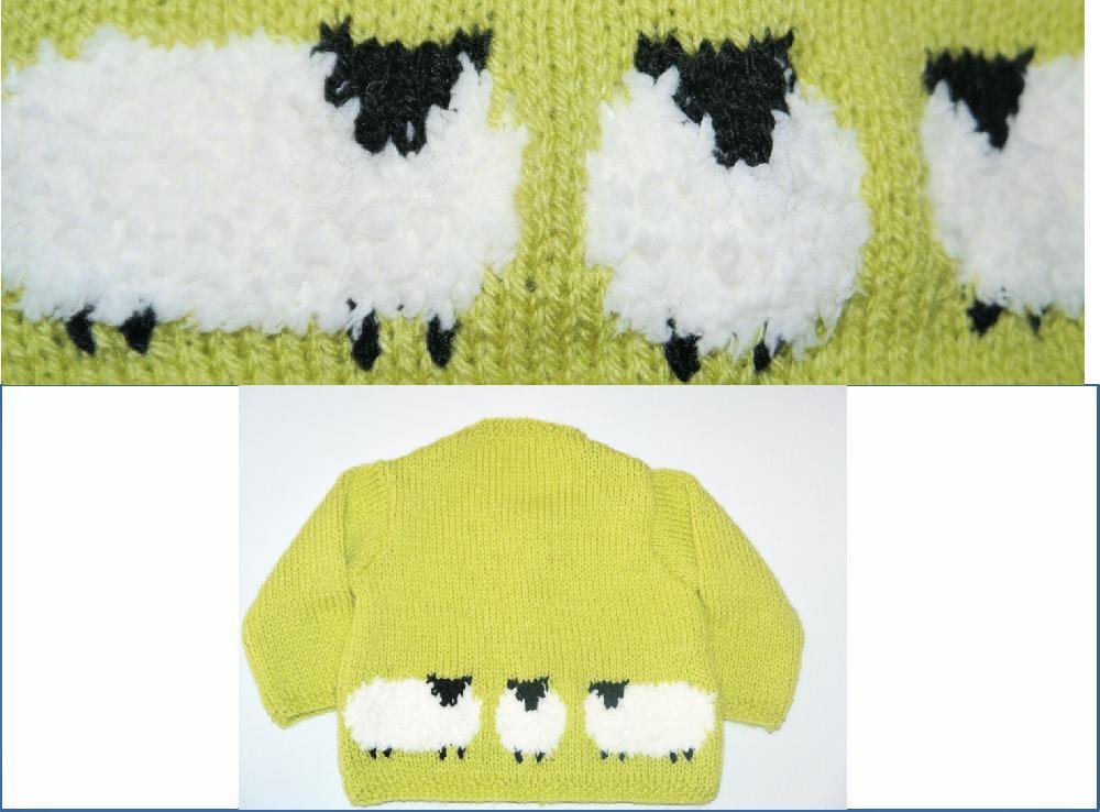 Baby Sheep Jacket and Hat Knitting pattern by iKnitDesigns Knitting Pattern...