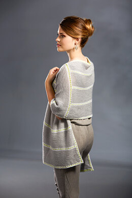 Dotted Ribbon Shawl in Premier Yarns Anti-Pilling Everyday Baby - Downloadable PDF