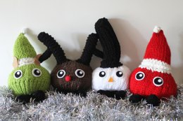 Knitted Christmas Critters
