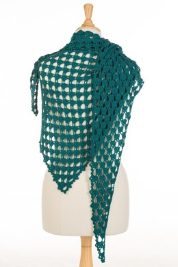 Waterdrops Shawl