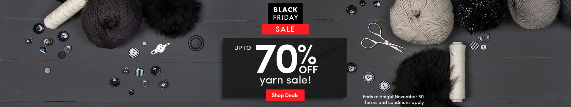 LK Marketing - Black Friday 70% off