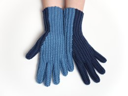 Twotone Gloves