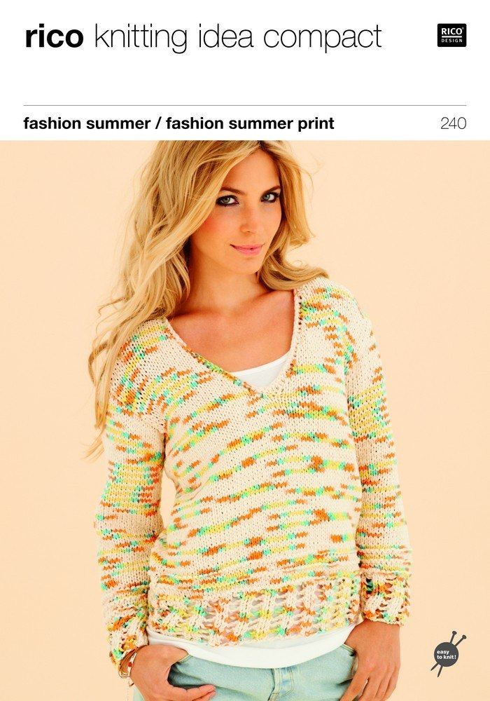 Sweater And Top In Rico Fashion Summer And Fashion Summer Print 240