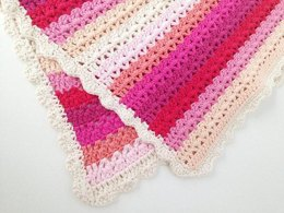 Striped Baby Blanket