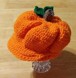 Pumpkin Newsboy Cap