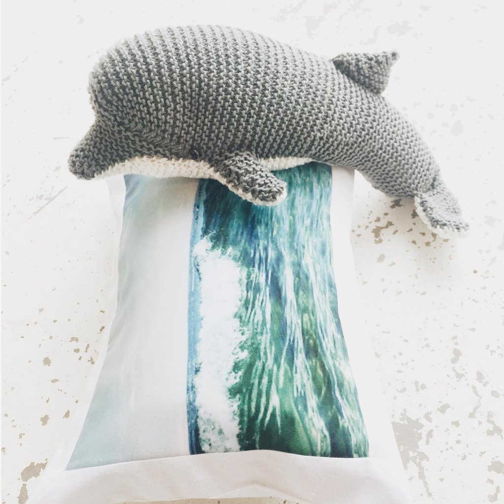 Dolphin knitting pattern by dot pebbles dt1010fo