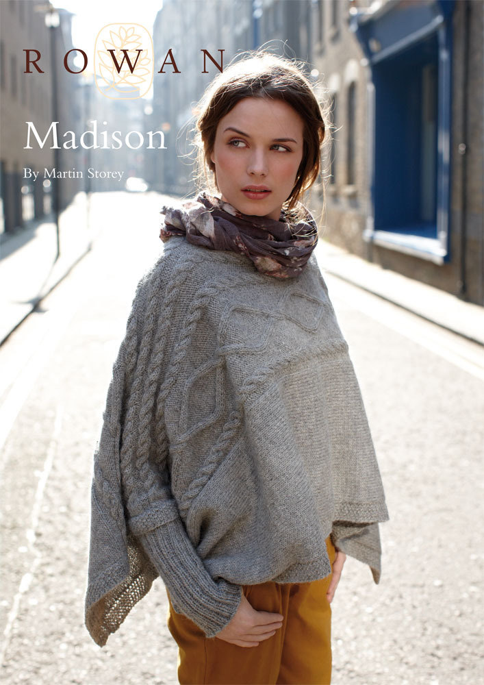 Madison Cape in Rowan Creative Focus Worsted | Knitting Patterns ...