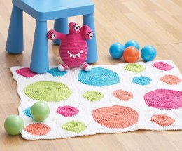 Connect The Dots Rug in Lily Sugar 'n Cream Solids