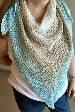 EASY BEGINNER'S Summer Cotton Scarf