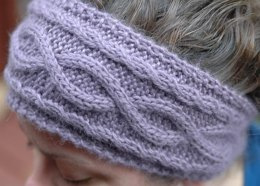 Winding paths headband