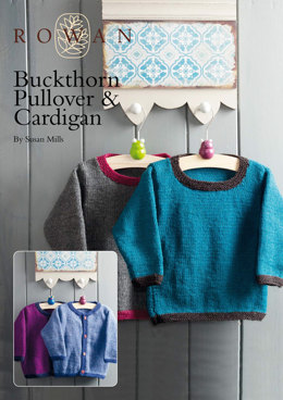 Buckthorn Pullover & Cardigan in Rowan Pure Wool Worsted