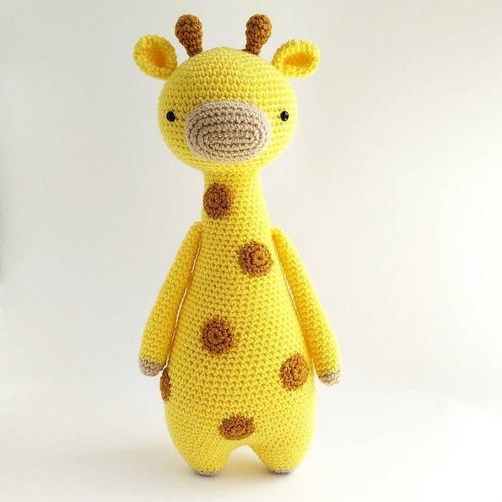 Awesome Crochet Giraffe Pattern Component - Sewing Pattern for ...