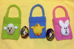 Easter Bunny, Chick and Sheep Gift Bags