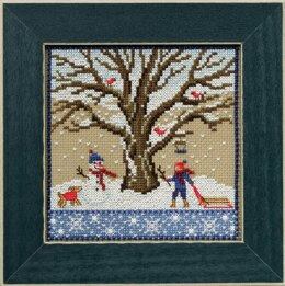 Mill Hill Winter Oak Cross Stitch Kit
