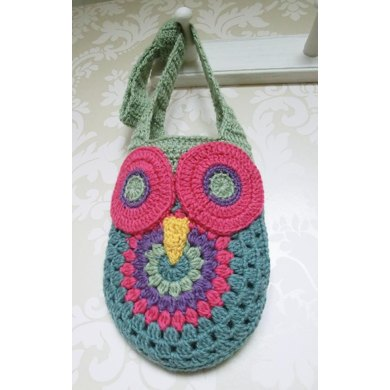 Crochet Owl Bag Crochet Pattern By Ruth Maddock Crochet Patterns