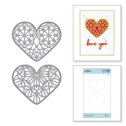 Spellbinders Expressions Of Love Etched Dies - Forever Love