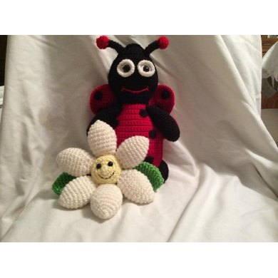 Ladybug Stuffie and Flower Playmate