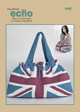 Union Flag Bag in Twilleys Freedom Echo DK - 9167