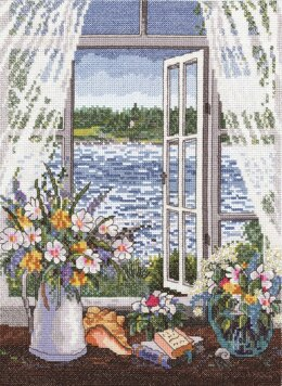 Janlynn Corporation Breeze off the Ocean Cross Stitch Kit - 23cm x 30cm