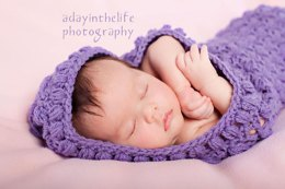 Lacy Cuddle Cocoon Pattern