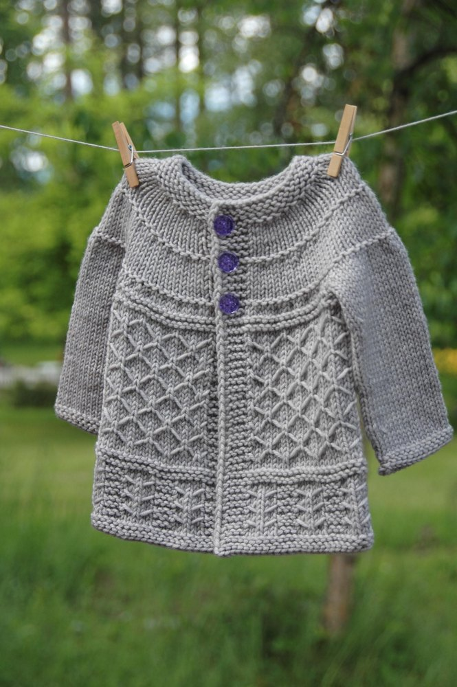 Coming Home Cardigan Knitting Pattern By Aimee Alexander