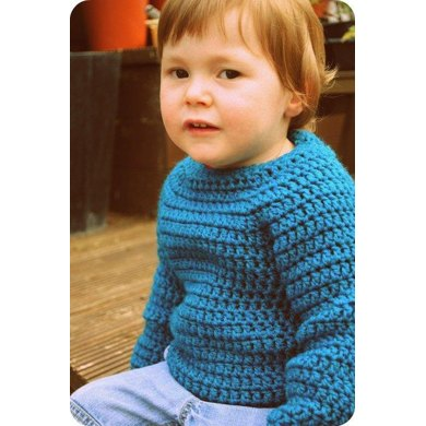 Child's Raglan Sweater