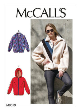 McCall's Misses' Jackets M8019 - Sewing Pattern
