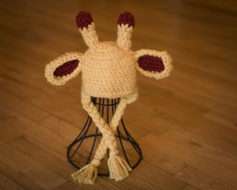 Giraffe Baby Hat Pattern Quick and Easy
