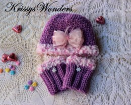 Pretty Perfections Hat and Boot Cuffs